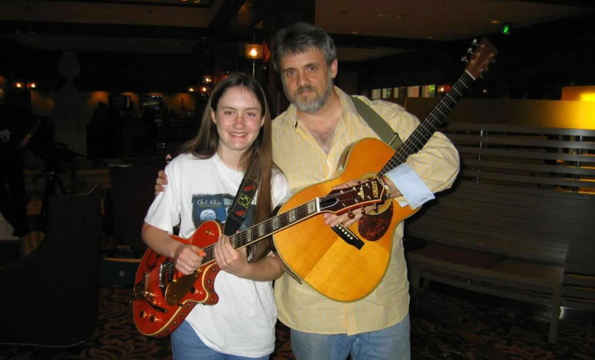 Lindsey with Rob Bourassa CAAS - 2009